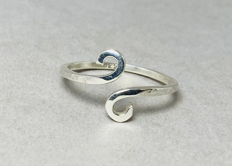 Spiral Ring Spiral Handmade Ring Silver Spiral Ring Handmade Ring Simple Silver Ring Minimalist Ring Swirl Ring Sterling Silver Ring