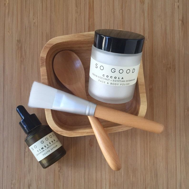 Organic & Vegan Skin  Glow Skin Set Dry or Mature Skin image 0