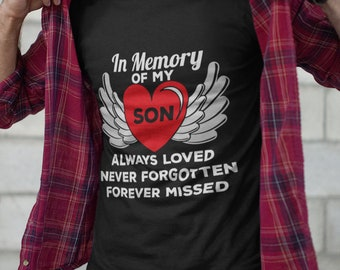 15a4b38d In Memory Of My Son Short-Sleeve Unisex T-Shirt