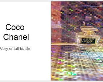 Coco Chanel-Antique Bottle