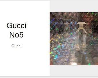 Gucci No 5-Antique Bottle