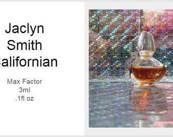 Jaclyn Smith Californian-Antique Bottle