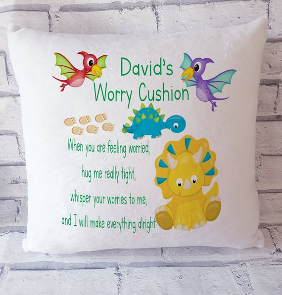adult worry cushion personalised pillow adult worry pillow personalised worry cushion worry pillow Worry cushion miss you gift,