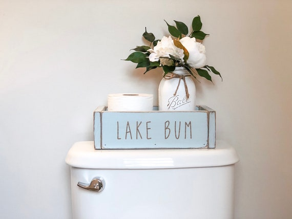 Lake Bum Bathroom Decor, Lake Bathroom Decor