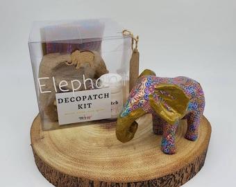 Paper mache elephant | Etsy