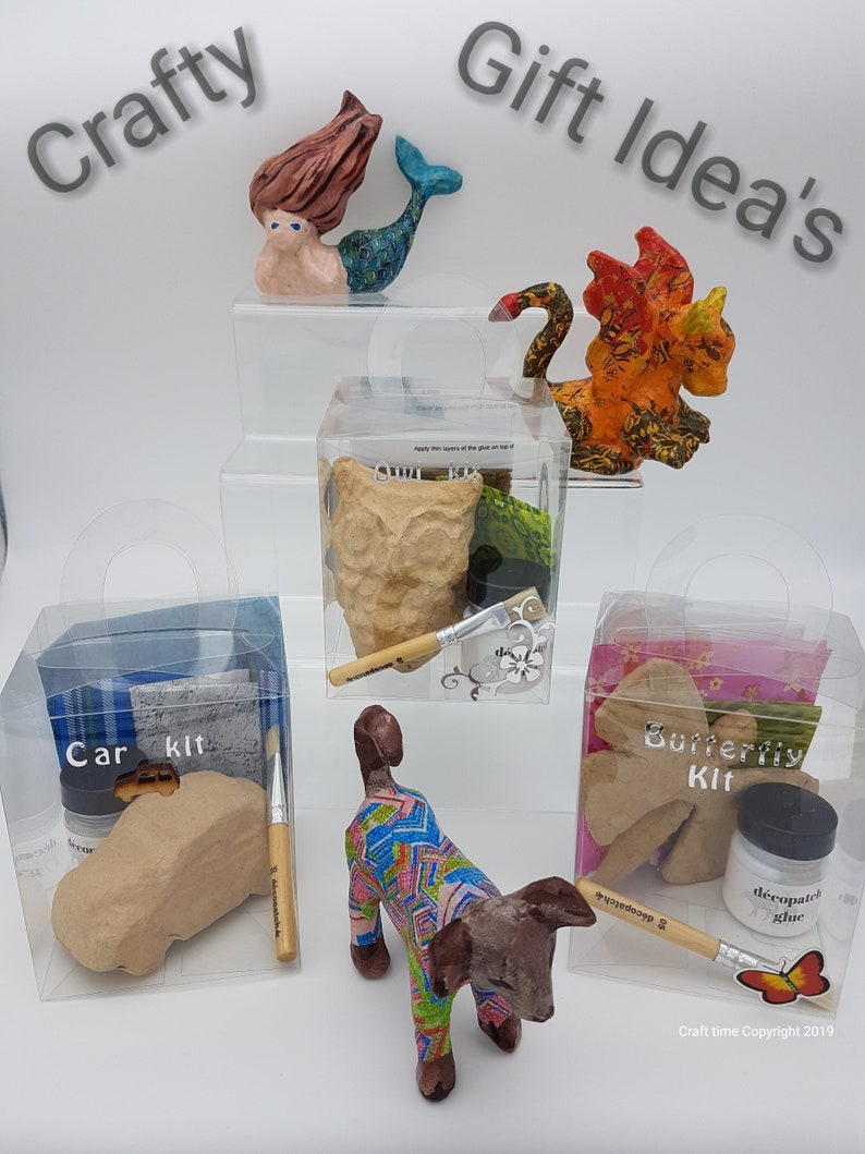 Decopatch Kit Kids Craft Kit BirthdayChristmas Gift