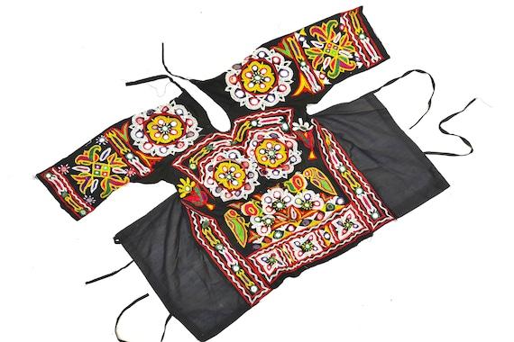 choli vintage old Embroidered banjara Heavy ART tapestry Vintage choli ethnic work Beaded choli choli cotton Work afghani choli indian wxBwF0YX