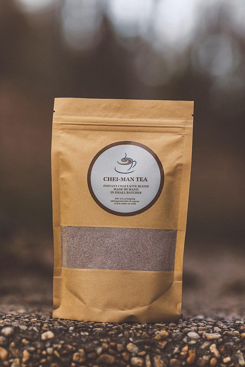 Chai Tea Blend  Instant Chai Latte  Regular or Decaf  Iced image 0