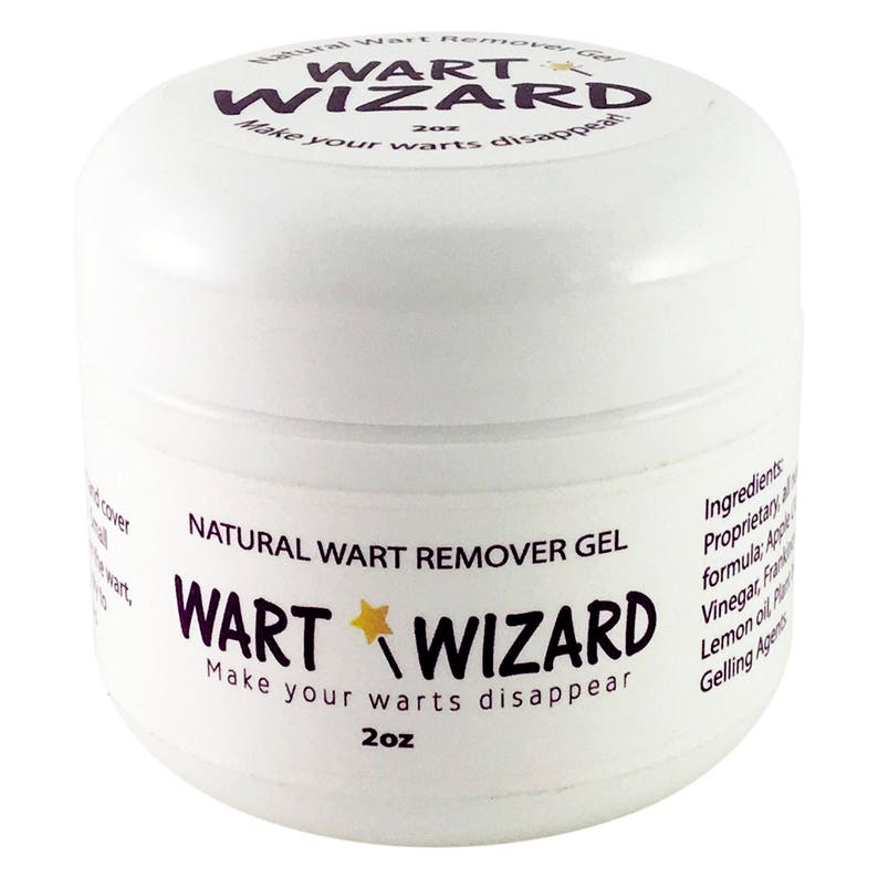 Wart Remover, wart removal, with WART WIZARD all natural wart gel  Safely  remove warts, common warts, flat warts, molluscum