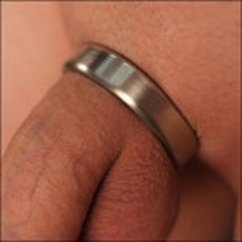 Glans cock ring solid silver custom made to fit any sizes