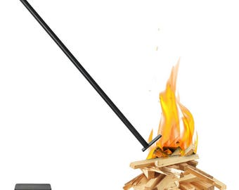 Flamman® Fire Enhancing Tool: Cast Iron Blowpipe