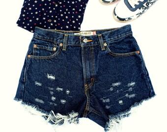LEVI'S 505 Denim Cutoff Shorts
