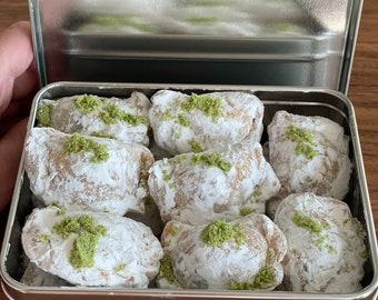 Persian Homemade Qhotab Walnut and Cardamom Nowruz