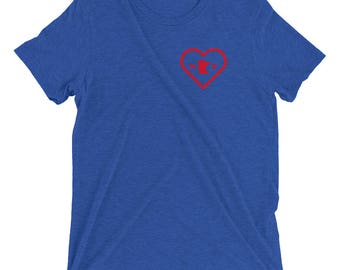 Heart of the Team Minnesota Baseball T-Shirt