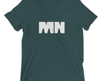 "Minnesota MN ""Outdoors"" Short Sleeve T-Shirt | Minny & North Original"