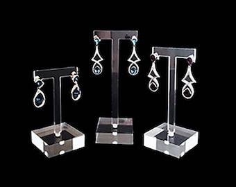 Modern Acrylic Display Stands for Fine Exhibition Premium Quality Jewelry Show Trade Sale Photo Props Platform Square Blocks Set of 4 PCS Svea Display