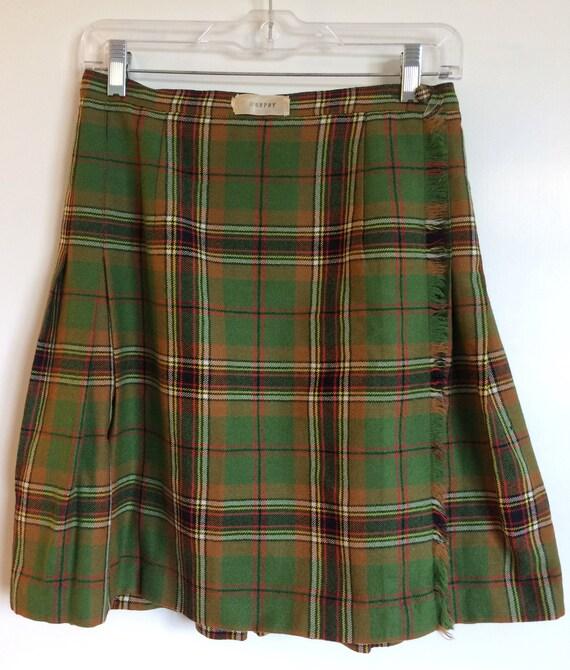 Scottish Plaid: Aljean Wool (Vintage).