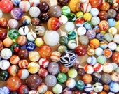 Antique grouping of various , Agate, and early machine made marbles some very rare at least 195 in count