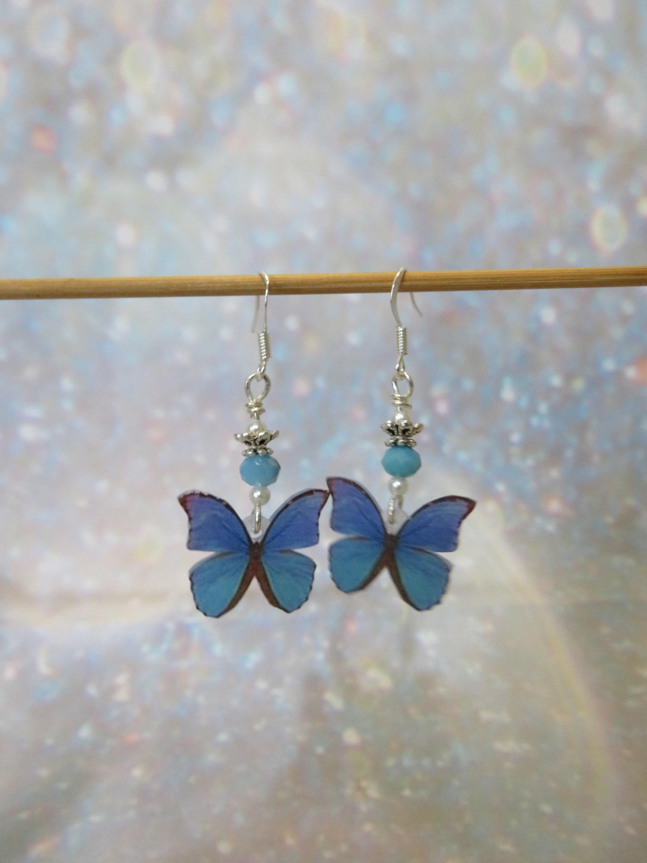 31f93ec7d97b4 Butterfly earrings, ear jewelry Butterfly jewelry Butterfly earring  butterfly, butterfly, butterflies, butterfly jewelry