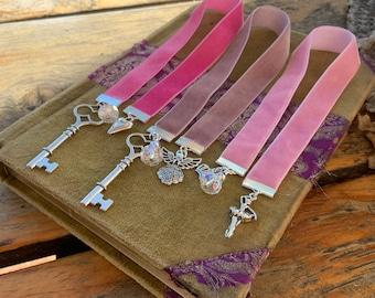 Velvet Ribbon Bookmark Easter Gift Ideas Journal Marker Book Lover Accessory Bible Bookclub Charm