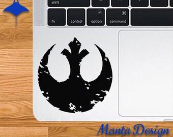 Star Wars Battered Rebel Alliance Symbol Vinyl Decal