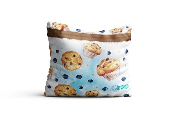 Sac réutilisable et écologique pour muffin - Reusable snack zipper bags for your muffin