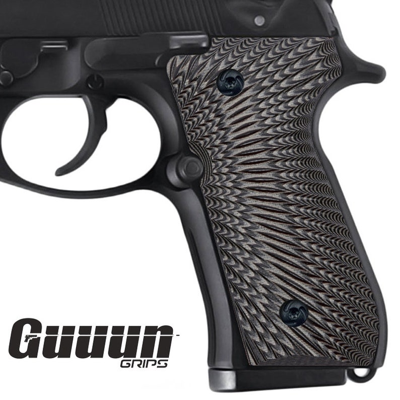 Guuun G10 Grips for Beretta 92 Thin Sunburst Texture
