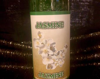 Jasmine scent 7 day candle