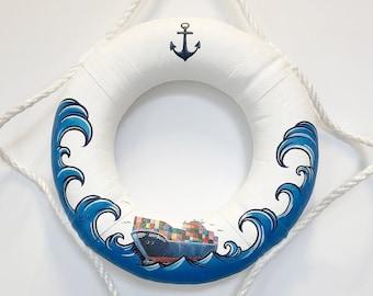 """Unique! Kl. Life Ring """"Container"""" - 100% Handmade & ORIGINAL"""