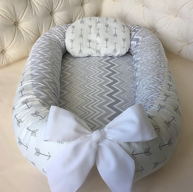 Double-sided  Babynest newborn  dockatot Cocoon baby nest bed removable mattress  Cot Sleeper Baby lounger Baby positoner Snuggle pillow