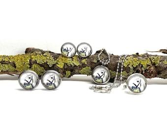 Children's jewellery set horses motif 2