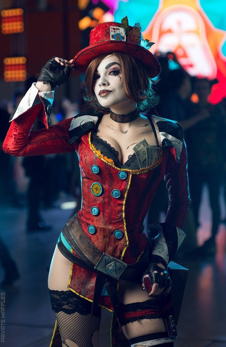 Mad Moxxi Borderlands cosplay costume handmade made to order item geek girl