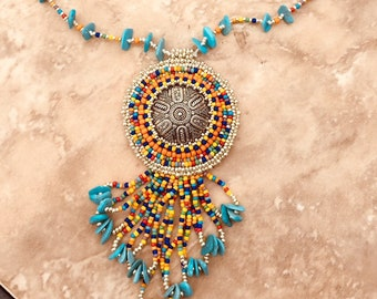 Desert Sunset necklace
