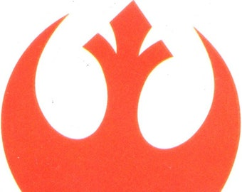 a6e7b52438c 2 inch Rebel Alliance Starbird Decal Phoenix Logo Rebellion Symbol Star Wars  Removable Wall Sticker Art Home Decor 2 InchBy 2 1 4 Inch