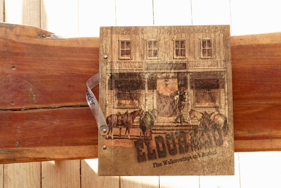 Cowboys Western Country Wallpaper Sample Book Eldorado