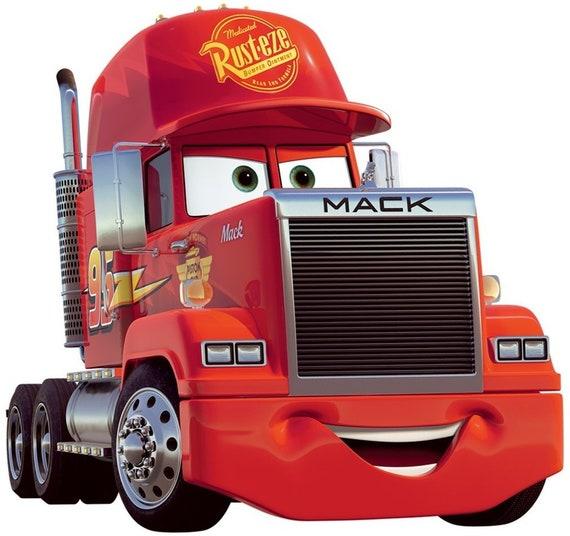 Hypermoderne 10 Inch Mack Truck Semi Decal Disney Cars Movie Removable Peel | Etsy XP-37