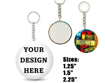 Custom Round Keychain  be623e9ddd
