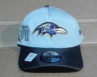 Baltimore Ravens Super Bowl XLVII (47) Champions Fitted Baseball Cap - Mens Size Medium/Large