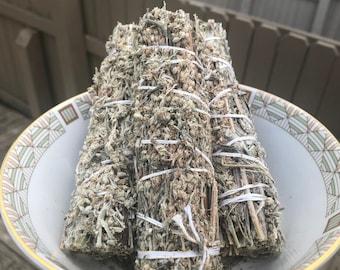 Black Sage (Mugwort) Cleansing Smudging Stick (1 Stick)