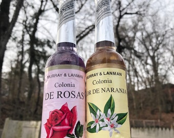 Orange Blossom Cologne Water and Rose Cologne Water