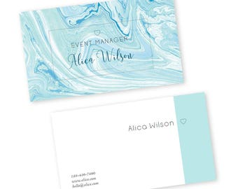 Business card template - business card - printable business cards - business card design - business branding - modern business cards