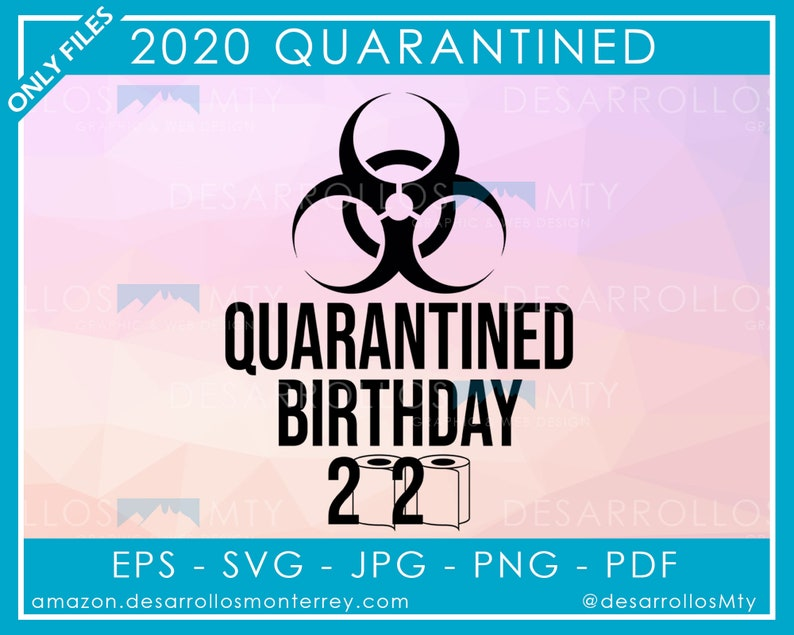 2020 Birthday Quarantine Svg 2020 Quarantine Svg 2020 Etsy