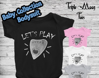 8468aba3b Baby Bodysuit Ouija Pagan Clothing Baby Clothes Infant Mom Gift One Piece  Unisex Wicca Witch Witchcraft Supply Occult Gift Ouija Board