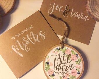 Custom Ornament & Card Set