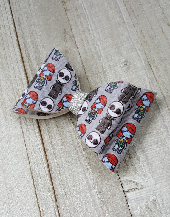 1f19d61c63 nightmare before christmas bows jack bows sally bows jack