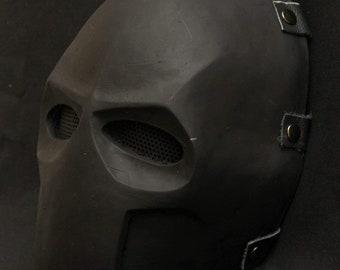 Army Of Two Mask Do It Yourself DIY Printable Helmet Head Pdf Download Halloween Paper Perakura 3D Pattern Polygon