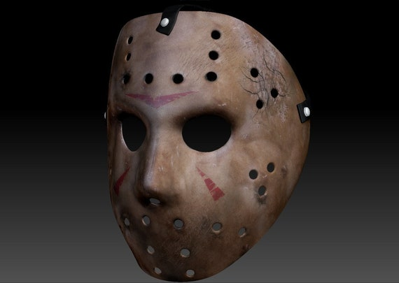 Jason Voorhees Mask Do It Yourself Papercraft