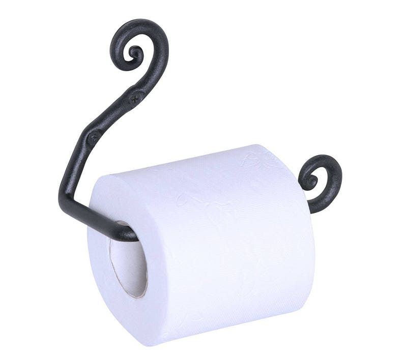 Wrought Iron Toilet Paper Holder