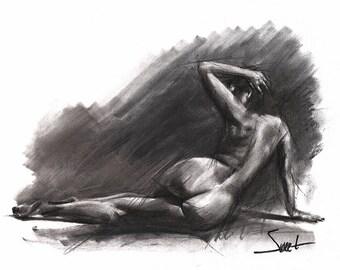 Sexy nackte Frauen skizzieren #4