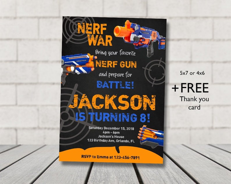 picture regarding Free Printable Nerf Party Invitations named Nerf Birthday Invitation, Nerf, Dart Get together Invitation, Electronic history, Printable document, Dart Invite, Nerf Invitation, Dart, Dart Nerf